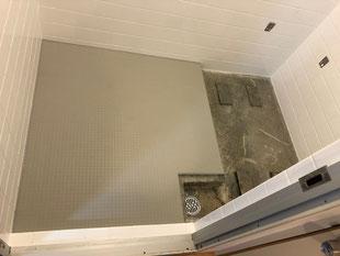 賃貸マンション在来浴室再生工事