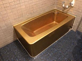 特殊浴場FRP浴槽修理、塗装
