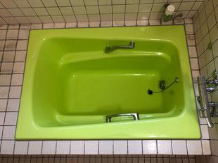 ホーロー浴槽塗装