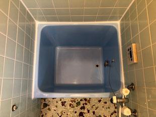 賃貸借家FRP浴槽修理