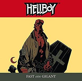 CD Cover Hellboy - Fast ein Gigant