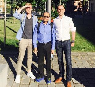 Dr. Förderer, Dr. Mithas und Dr. Schmidt