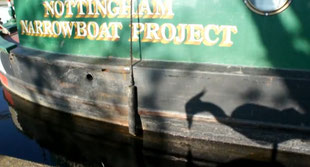Olympic Legacy workshops on canal boats 2010
