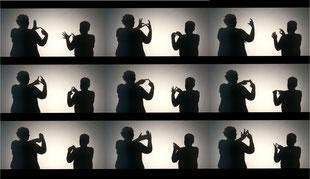 British Sign Language art @ Shape Open 2017