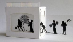 Mini shadow theatre kit