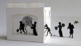 Mini shadow theatre kit - make your own animations