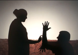 British Sign Language shadow theatre 2015