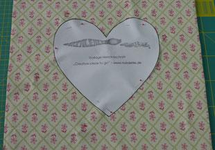 Dekoration - Kissen mit Herz - DIY-Projekt