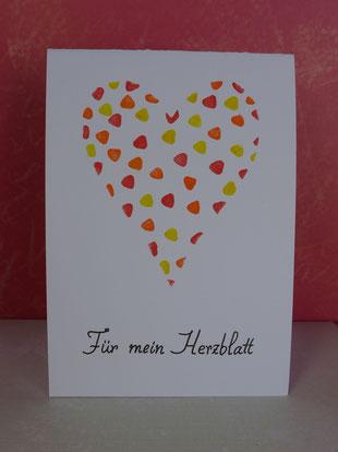 """Valentinstag - """"Last minute""""-Grußkarten - DIY-Projekt für Eilige"""