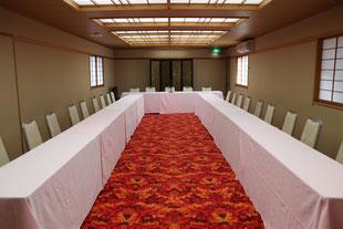 30名の会議室。
