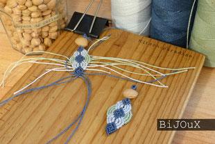 kp Kitsch-paradise artisans créateurs bijoux micromacramé nature artiste artisans bretagne
