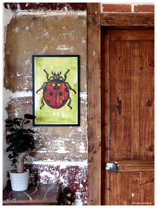 #kp #kitschparadise #kitsch #paradise #artisans #artisan #créateur #createurfrancais #creative #creation #artisanatfrancais #nature #naturelovers  #bretagne #cotedarmor #art #bijoux #macramé #peinture #acrylique #encredechine #doldebretagne #coccinelle