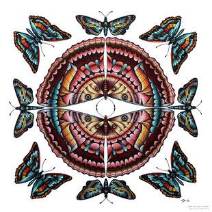 #kp #kitschparadise #kitsch #paradise #artisans #artisan #créateur #createurfrancais #creative #creation #artisanatfrancais #nature #naturelovers  #bretagne #cotedarmor #art #bijoux #macramé #peinture #acrylique #encredechine #doldebretagne #papillon
