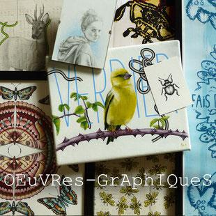 Kitsch-paradise artisans créateurs œuvres graphiques