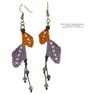 kp Kitsch-paradise artisans créateurs artiste artist créateurfrancais artisanat art  bijoux macramé tissage weaving weavingart