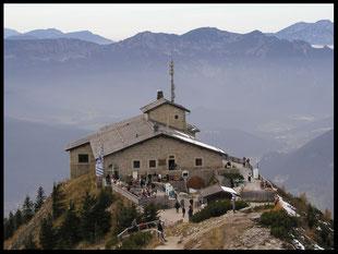 Berchtesgaden. Obersalzberg. Kehlstein