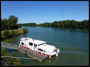 (F) Saône, Doubs, Canal du Rhône au Rhin 20.06. - 11.07.2015