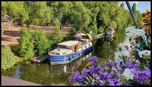 (F)(D) Canal de la Marne au Rhin, Canal de la Sarre, Saar 01.08. - 22.08.2020