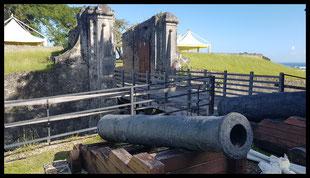(F) Guadeloupe. Fort Fleur d'épée 12.12.2018