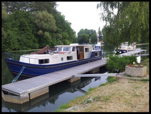 (F) Canal du Nivernais 21.06. - 05.07.2014