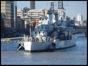 (GB) London. HMS Belfast 13.01.2014