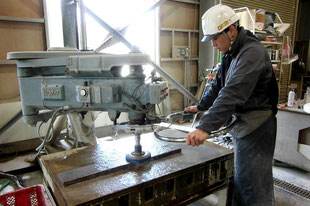 清水大理石工業自社工場