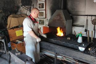 Schmied am Feuer - Heimatmuseum Auetal