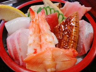 上チラシ寿司