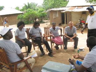 Campagne de surveillance de la qualité des eaux - Ministaire de la Santé Bénin