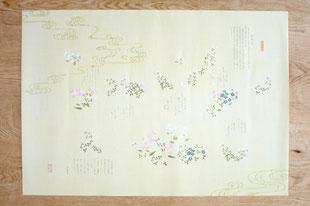 狭山万葉銘茶 包装紙