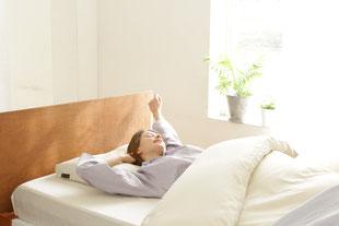 スッキリとした目覚めで健康的な一日を