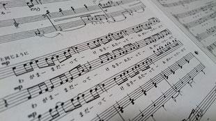 合唱用伴奏譜