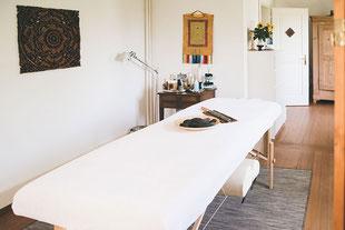 Gabi Burki-Rindlisbacher, Gesundheitsoase Aarau, Praxis für Tibetische Massage