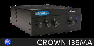 crown 135ma. amplificadores crown