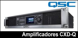 amplificadores, CXD, qsc