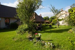 le gîte Chandoiseau à 11km de la maison de Claude Monet à Giverny,