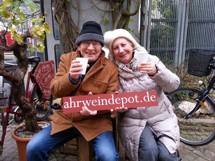 Das Ahrweindepot ist das Ziel vieler Besucher des Ahrweiler Weihnachtsmarkt.