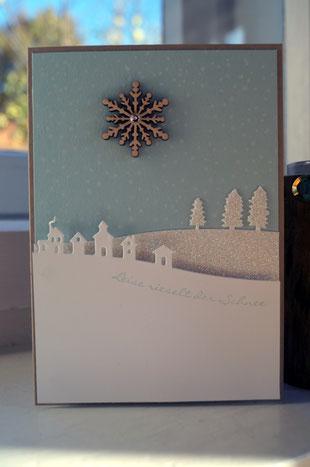 Weihnachtskarte mit Stampin´Up! - Patricia Stich 2015