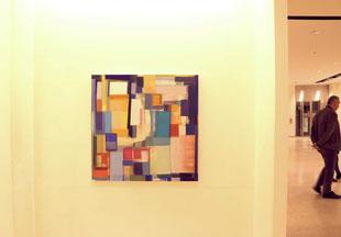 Anne Schreiner in der Galerie SEHR Koblenz