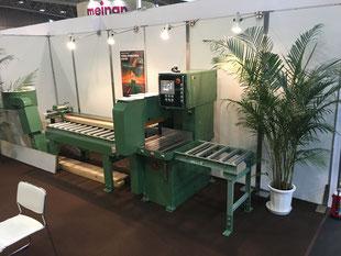 日本木工機械展ウッドエコテック2017弊社ブース
