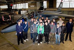 Visite de la base aérienne de Tours