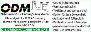 Ortenauer Druck Manufaktur GmbH, Allmendgrün 7