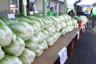 野菜などの即売