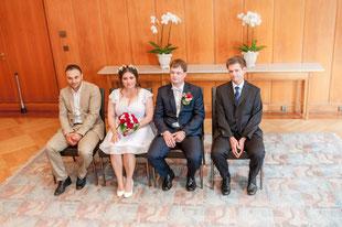 Verschiedene Blickwinkel beim fotografieren von Brautpaaren