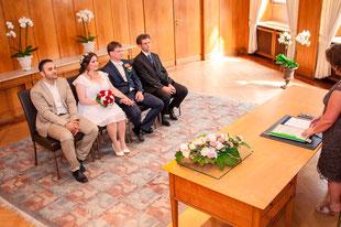 Hochzeitsfotos aus dem Frankfurter Standesamt