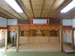 愛知県 天理教 神殿耐震リフォーム工事