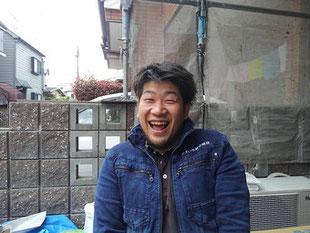 屋根修理,板金修理,施工責任者 川井大地