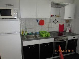 Küche Monteurunterkunft Wolfsburg