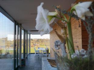Innenansicht des Firmengebäudes des Architekturbüros Klein