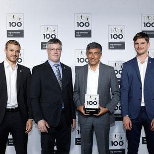 MOVECAT bekommt 2019 zum dritten Mal Innovationspreis und TOP 100-Siegel